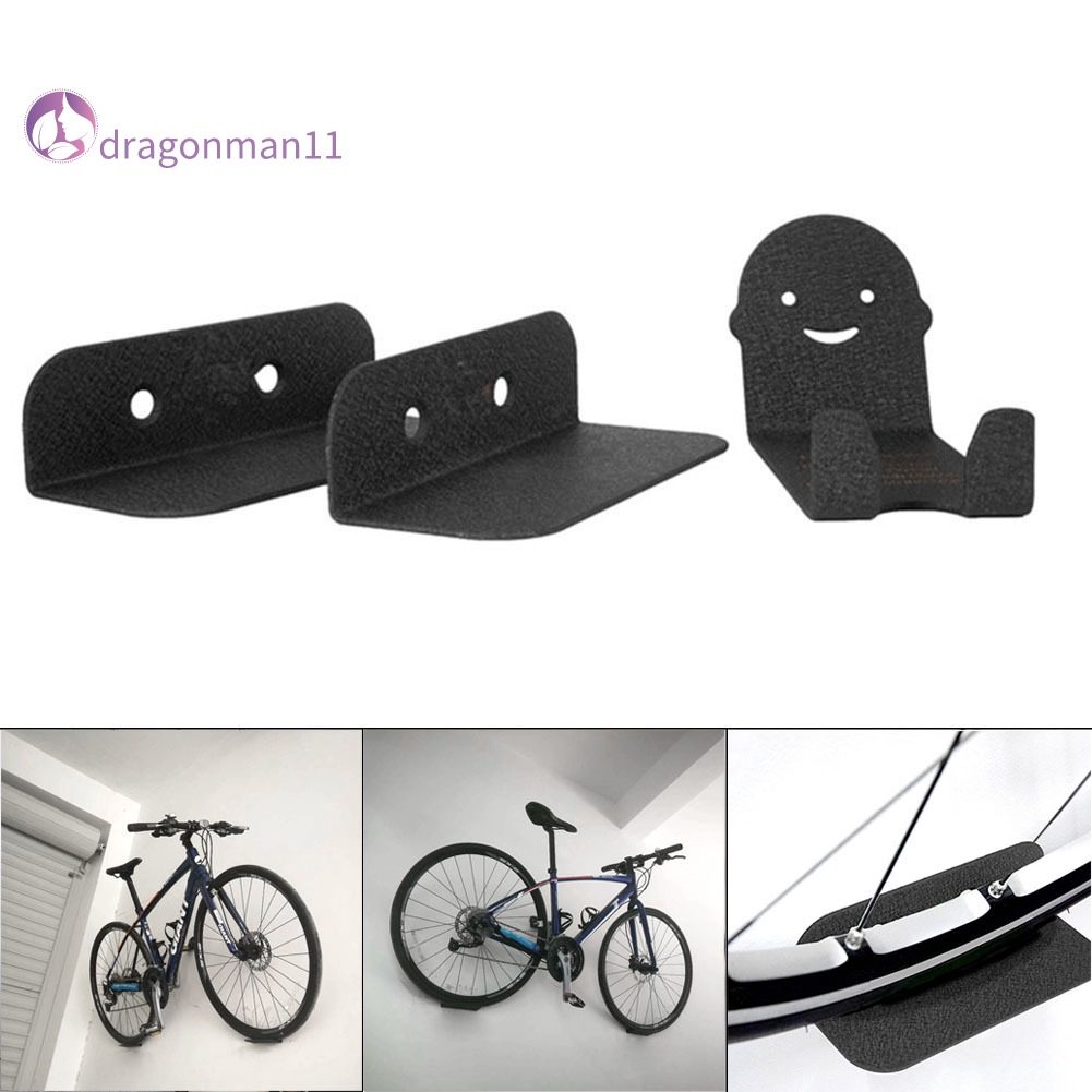 Bike Bicycle Cycling Storage Wall Mounted Mount Hook Rack Holder Hanger Stand US