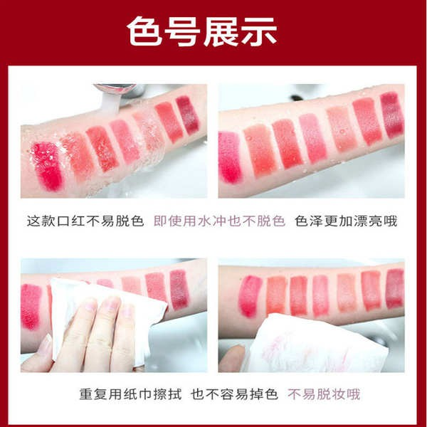 dior lip maximizer dior lipstick แบรนด์ใหญ่ของแท้ Dio Yafi lipstick 999 matte moisturizing and not easy to fade 888 non-