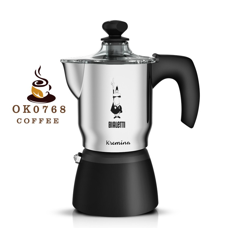 Bialetti Bialetti Macchiato Moka pot เครื่องชงกาแฟสำหรับทำเครื่องใช้เอสเปรสโซทำมือในครัวเรือน