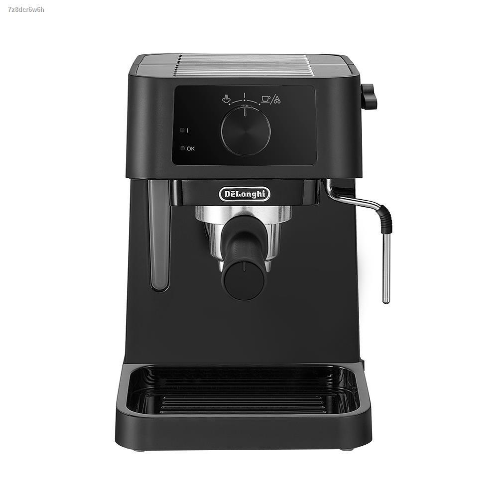 ☃❣∈เครื่องชงกาแฟแรงดัน DELONGHI EC230.BK เครื่องทำกาแฟ เครื่องชงกาแฟ เครื่องบดกาแฟ ชงกาแฟ ที่ชงกาแฟ เครื่องชงกาแฟสด Co