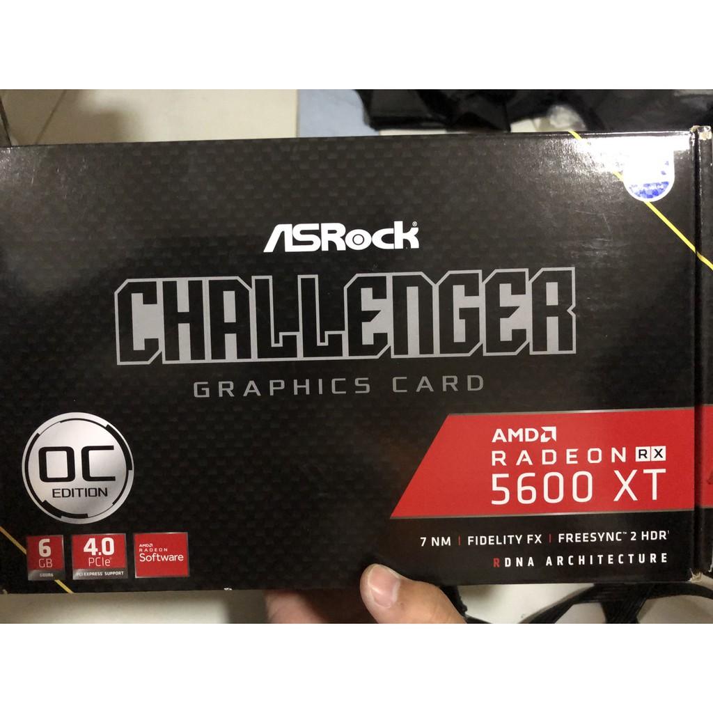 VGA (การ์ดแสดงผล) ASROCK RADEON RX 5600 XT CHALLENGER D 6G OC - 6GB GDDR6 (ฟรีส่ง)
