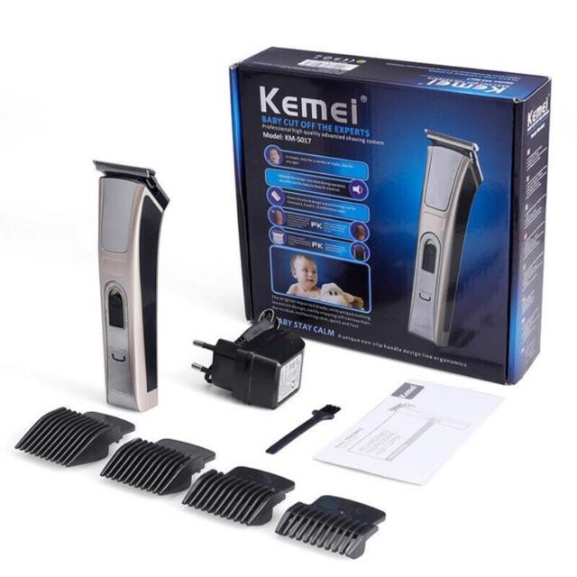 *พร้อมส่ง* Kemei KM-5017 แบตเตอเลี่ยนไร้สาย ปัตตาเลี่ยนไร้สาย ที่ตัดผม