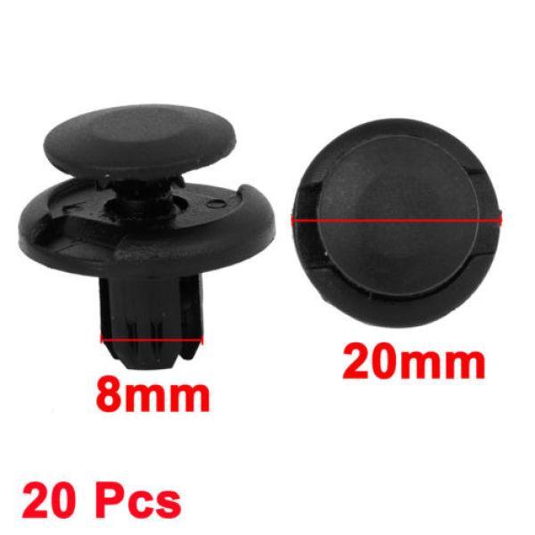 For HONDA 20 bumper fender fascia trim panel push type fastener clip 8mm