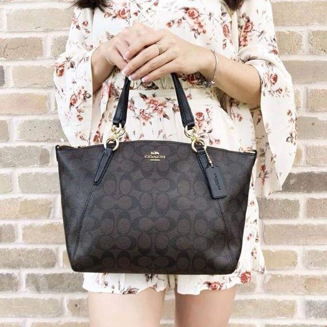 แท้ 💯%COACH F28989 Women Tote bag กระเป๋าถือผู้หญิง crossbody bag กระเป๋าสะพายข้าง กระเป๋า forever young กระเป๋าผู้หญิง กระเป๋าถือ กระเป๋าสะพาย กระเป๋า Messenger เป้สะพายข้าง กระเป๋าช้อปปิ้งความจุขนาดใหญ่