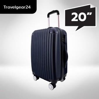 "TravelGear24 กระเป๋าเดินทางขนาด 20"" Luggage 20"" Model A1004 (Black/สีดำ)"