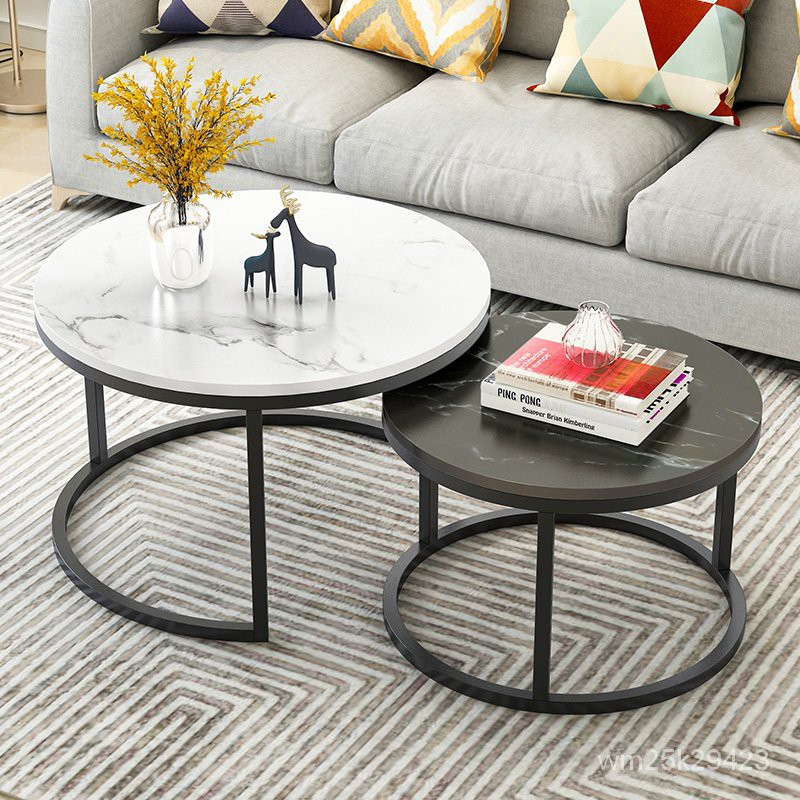 Nordic Coffee Table Simple Modern, Luxury Round Table