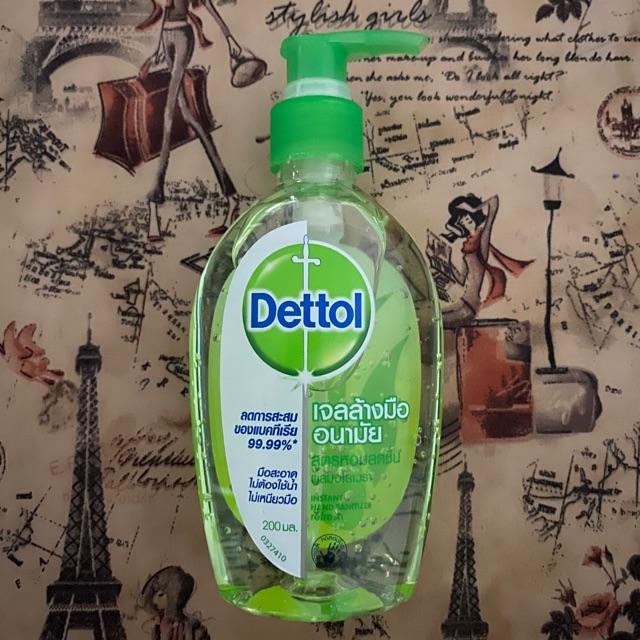 เจลล้างมืออนามัย Dettol ขนาด 200 ml.