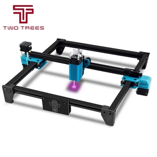 Twotrees Totem S 40W Laser Engraving Machine DIY Frame Fast High Precision Cut For Metal Wood Stainless Steel Printer Cu