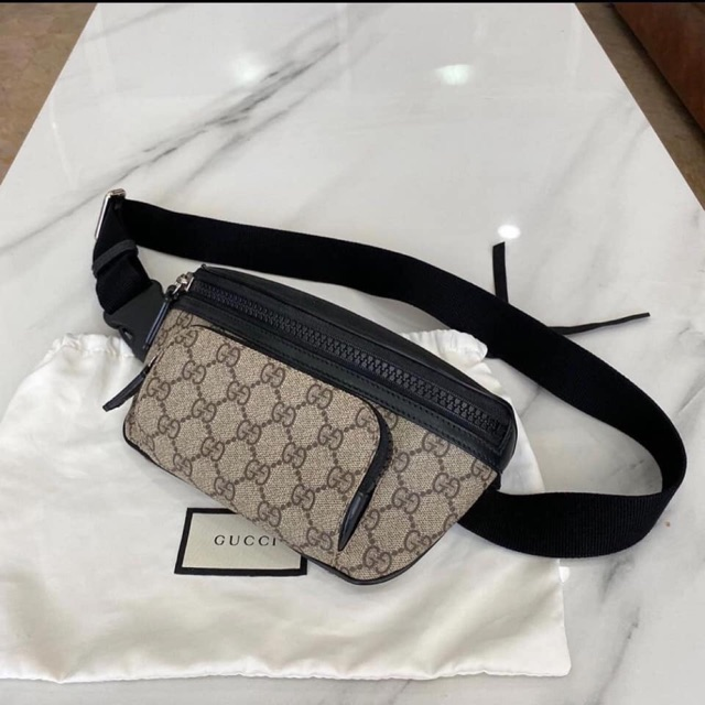 Used Gucci GG Signature belt bag