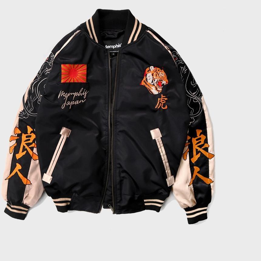 เสื้อแจ็คเก็ตสุขอนามัย Sukajan Jacket - Ronintora