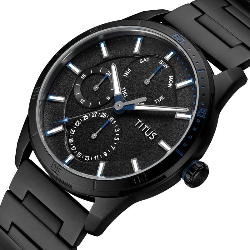 ♡にสายนาฬิกา gshockสายนาฬิกา smartwatchสายนาฬิกา applewatchTITUSแท้นาฬิกาผู้ชายใหม่ควอตซ์นาฬิกาสายเหล็กแฟชั่นกีฬาผู้ชายนา