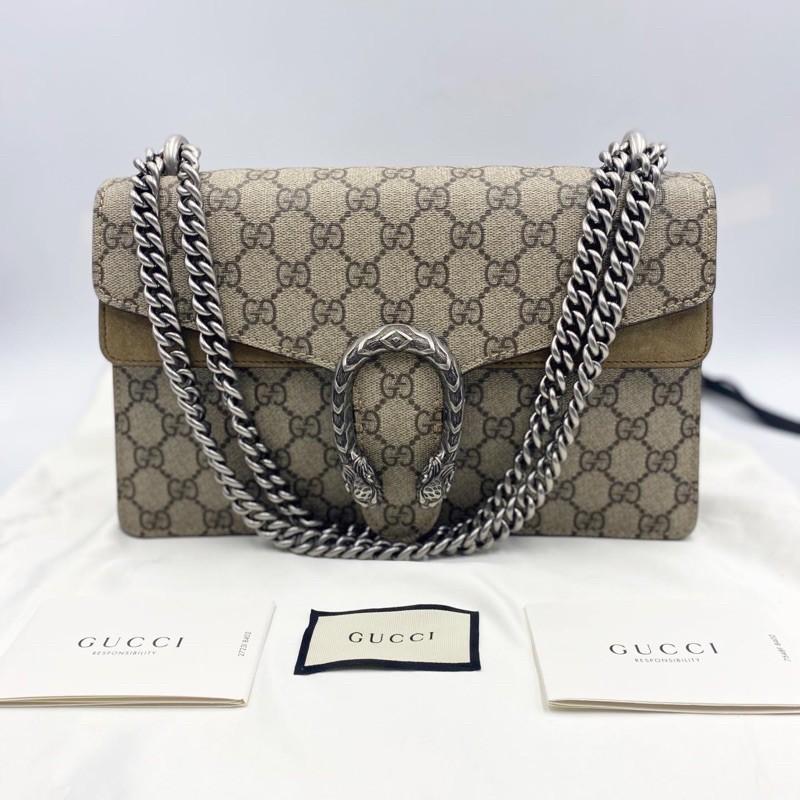 [สินค้าแบรนด์]Like Very Very Newww Gucci Dionysus Y.2020 ปีกเบจ