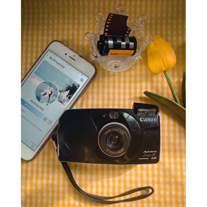 กล้องฟิล์ม Canon autoboy luna 35
