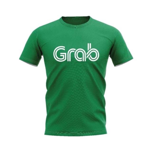 เสื้อยืดแกร็บฟู้ด Grab Food  T-shirt