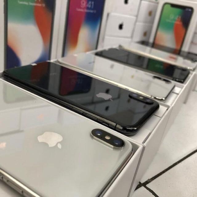 Apple iPhone X  เครื่องใช้แล้ว(เครื่องแท้ 100%)64G/ 256GB