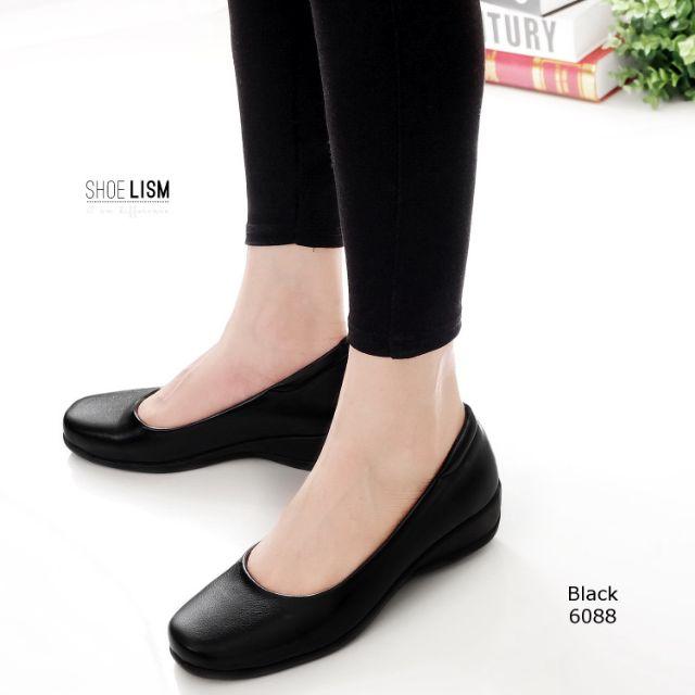 มาใหม่ รหัส 6088 #รองเท้าคัชชู #คัชชูดำ