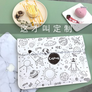 【YW】กระเป๋าคอมพิวเตอร์Small fresh computer bag female inner gall Macbookpro dell Apple Air notebook Mac Pack 15.