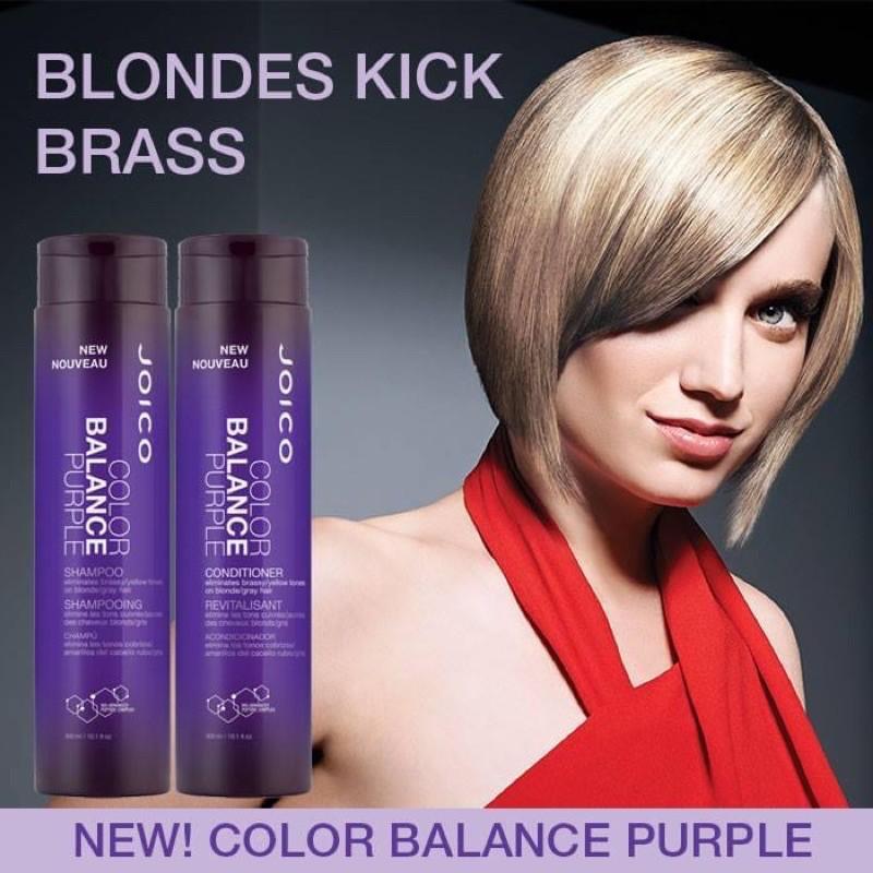 JOICO Color Balance Purple Silver Shampoo / Conditioner 300ml