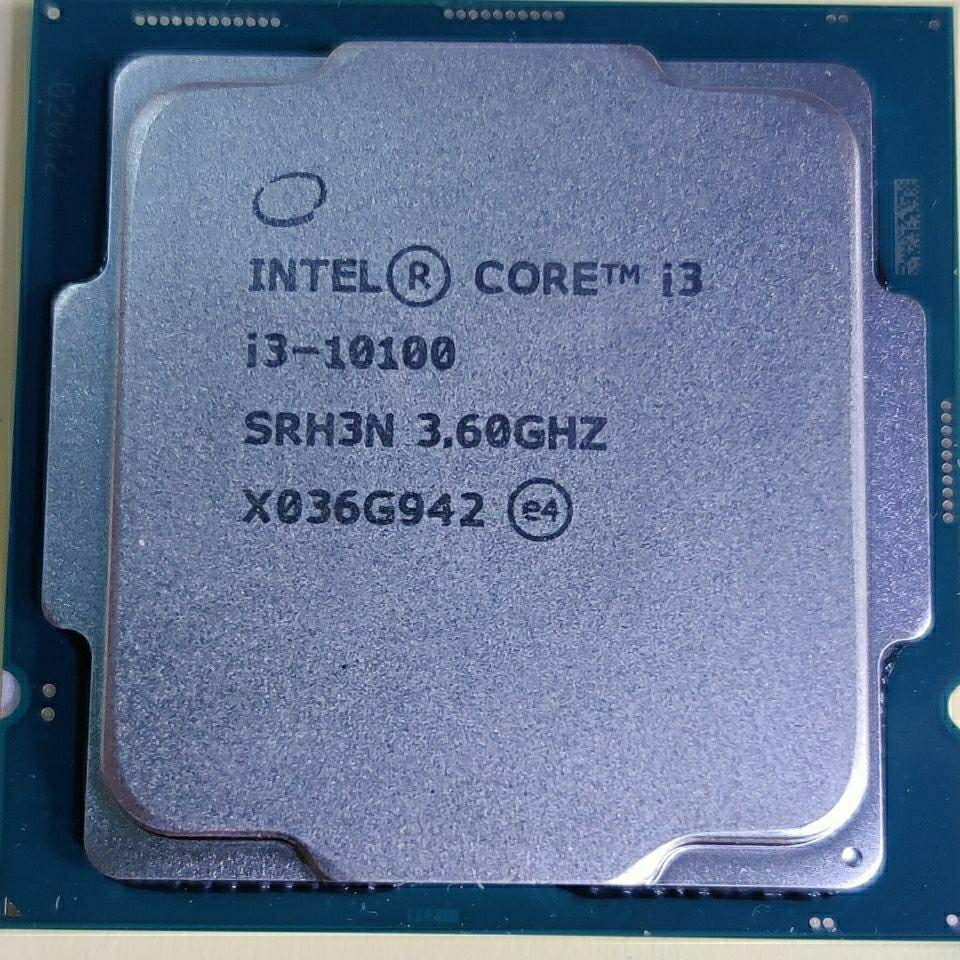 applewatch series 6✿✧Intel i3 10100 4-core 8-thread โปรเซสเซอร์ CPU จำนวนมาก