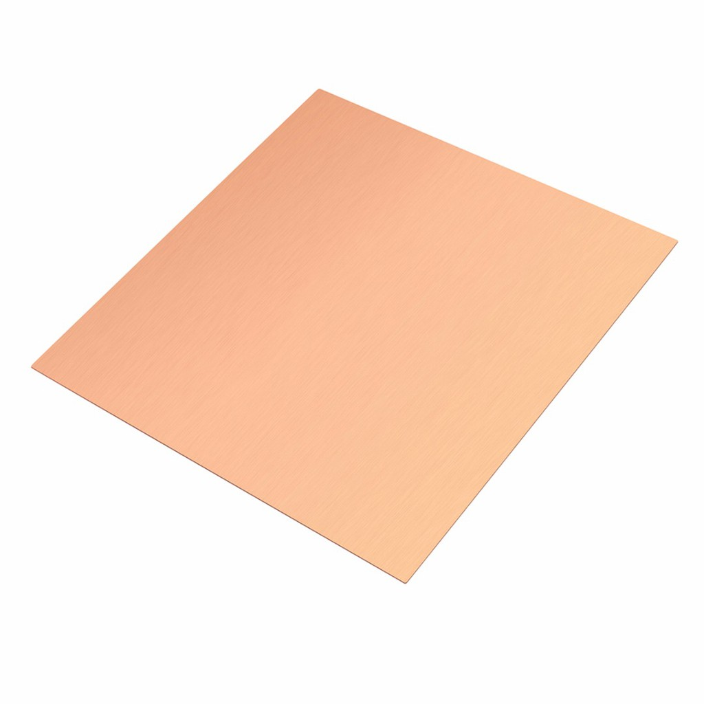 10pcs 99/% Copper Copper Strip T2 Cu Metal Bar Plate 0.5mm x 6mm x 100mm