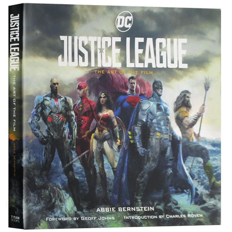 Spot New Products Books Justice League หนังสือภาพยนต์ภาษาอังกฤษ