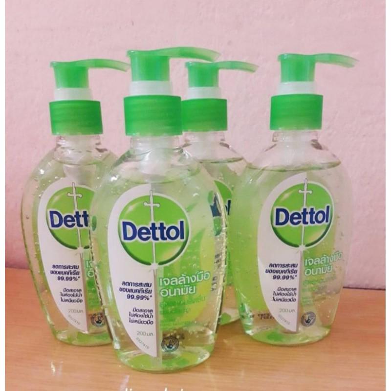 เจลล้างมืออนามัย เดทตอล Dettol ขนาด 200 มล.