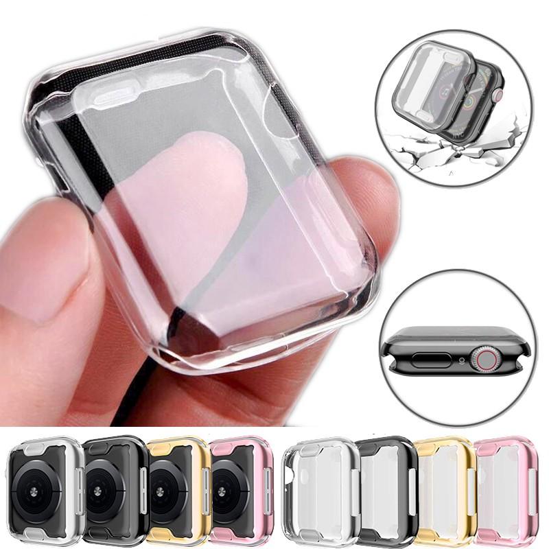 เคสสมาร์ทวอทช์ TPU สำหรับ Apple Watch Series SE 6 5 4 3 2 1 ขนาด 38 มม. 42 มม. 40 มม. 44 มม.