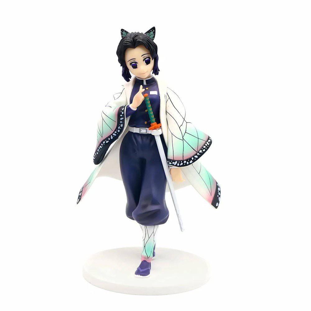 Demon Slayer GK Kochou Shinobu Anime Action Figure Model 23CM PVC Lovely Girl Statue Collection Toys Desktop Decoration