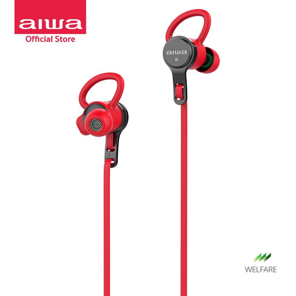 หูฟังบลูทูธ หูฟังไร้สาย AIWA EB-602 Classic Wireless Bluetooth Earphones ไร้สาย หูฟังแบ หูฟังบลูทูธ หูฟังBluetooth หูฟัง