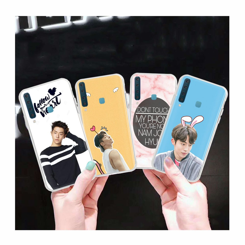 AT88 Nam Joo Hyuk Transparent Case for Samsung Galaxy Note 8 A6 Plus A8 Star A9 Pro