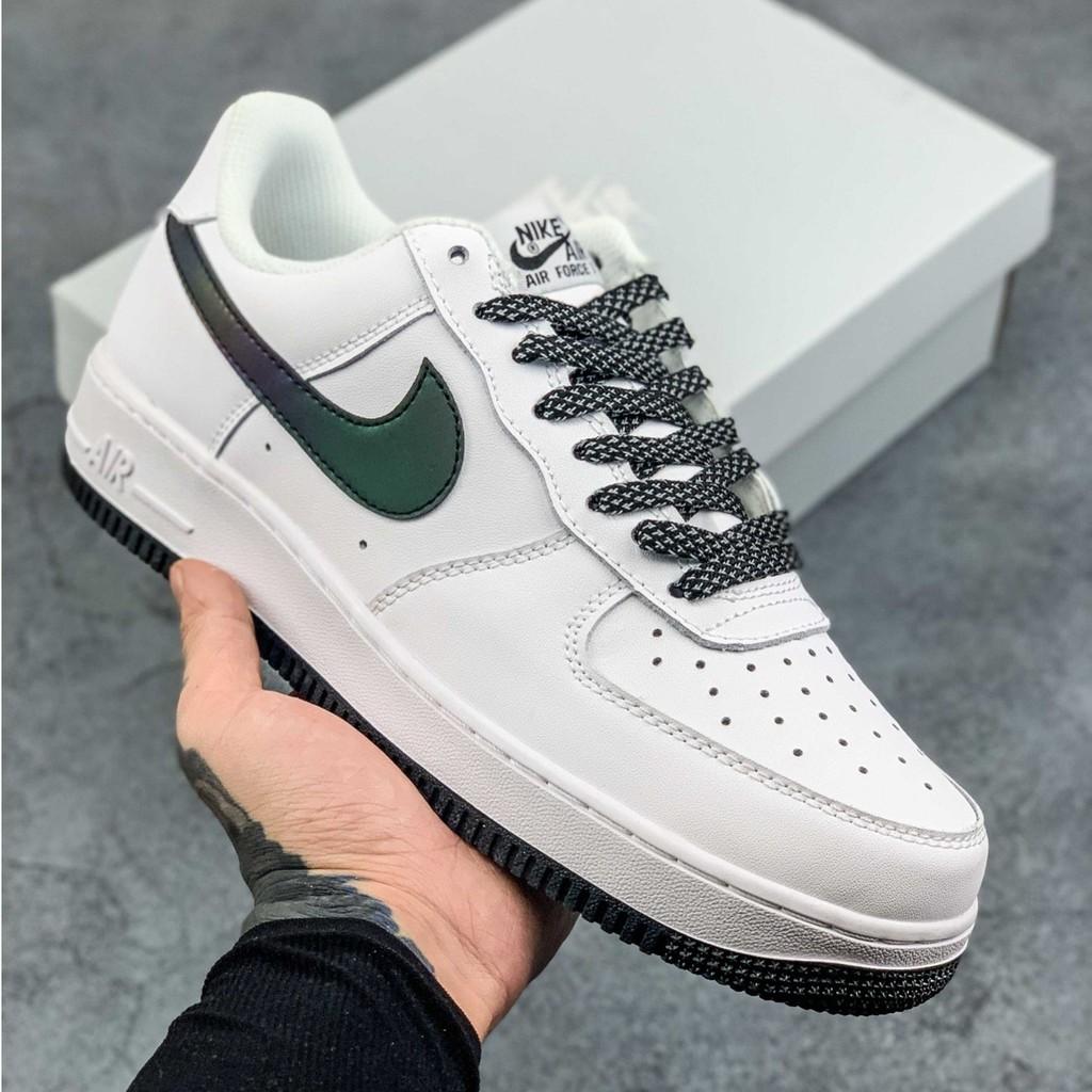 Nike / Nike Air Force 1 Low Retro AF1 Air Force One 3M รองเท้าวิ่ง / รองเท้าผ้าใบแบบสะท้อนแสง