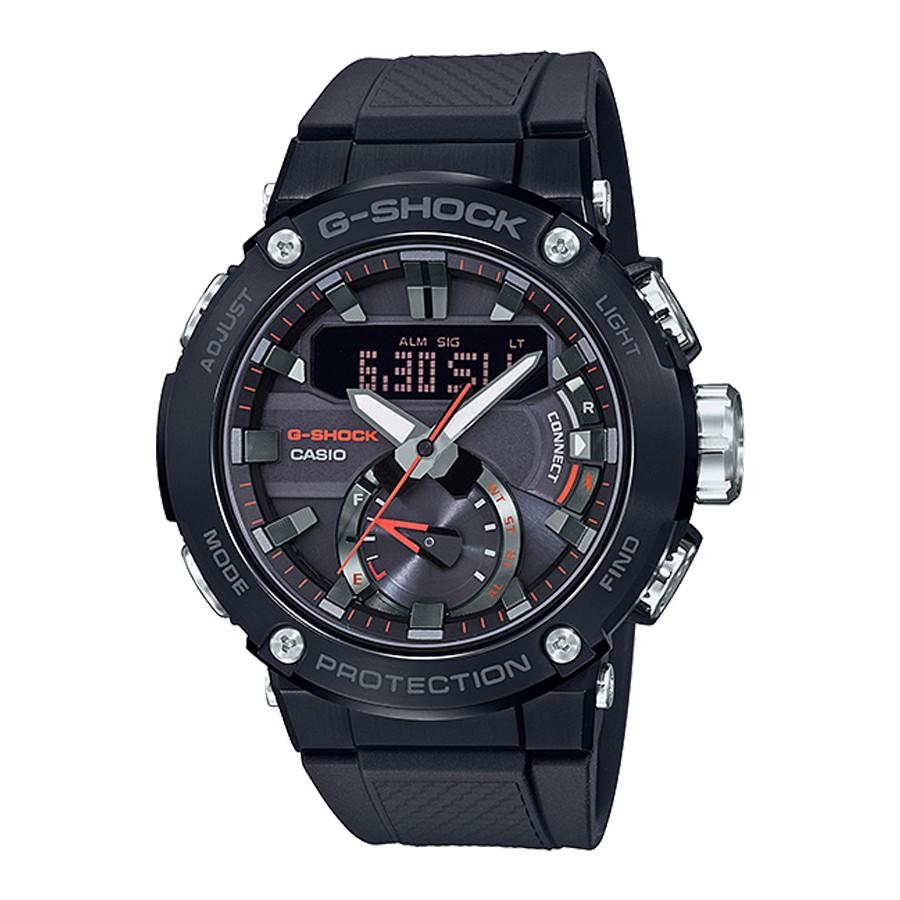 Casio G-Shock GST-B200 SERIES นาฬิกาข้อมือผู้ชาย สายเรซิ่น รุ่น GST-B200B,GST-B200B-1A - สีดำ