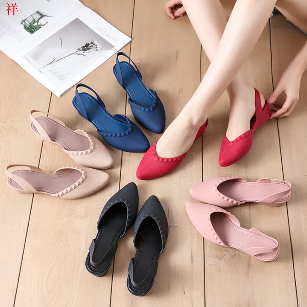 รองเท้าคัชชูหัวแหลม มีส้น รองเท้าคัชชู รองเท้าสวย รองเท้าแฟชั่น หัวแหลม สวย รองเท้าผู้หญิง1
