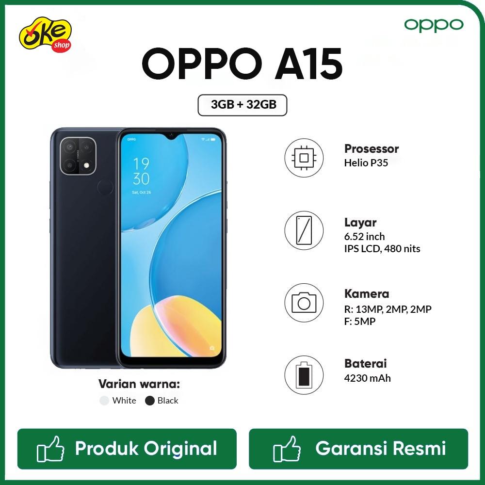 Oppo A15 Smartphone (3GB /