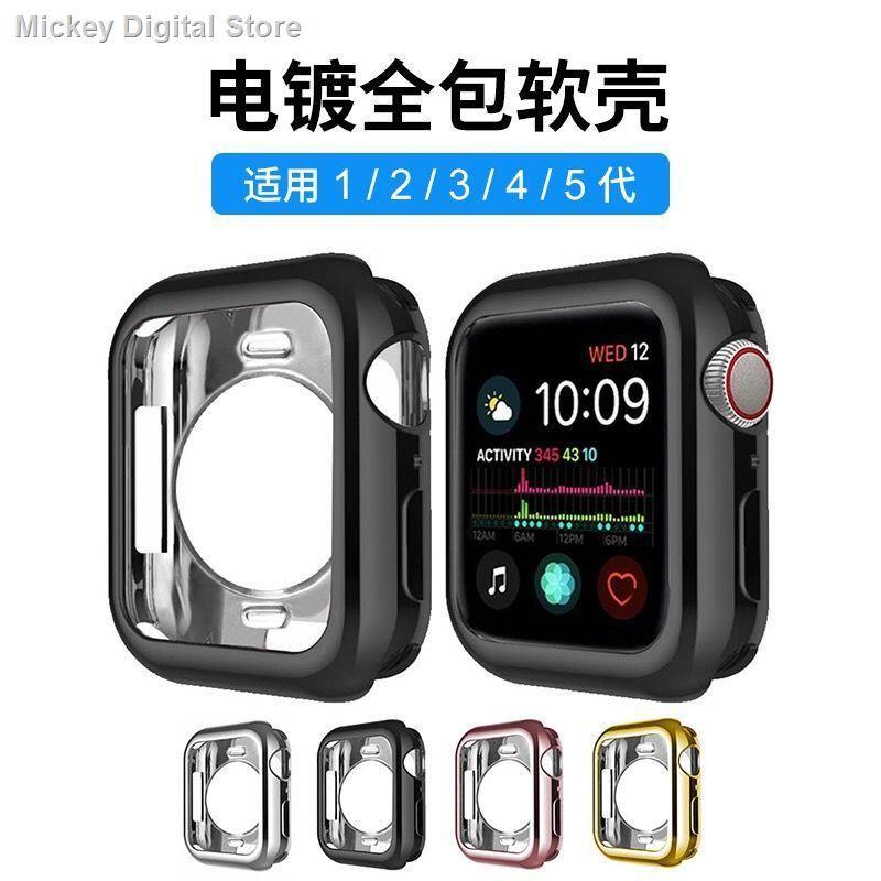 【อุปกรณ์เสริมของ applewatch】┅ฟิล์มเปลือกป้องกัน Applewatch ที่ใช้งานได้ Apple iwatch6SE / 54321 ฝาครอบป้องกันแบบรวมท