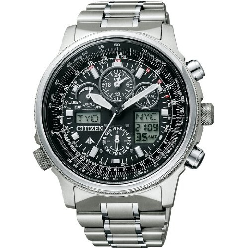 CITIZEN PROMASTER Promaster Eco-Drive Sky series jet setters chronograph PMV65-2271