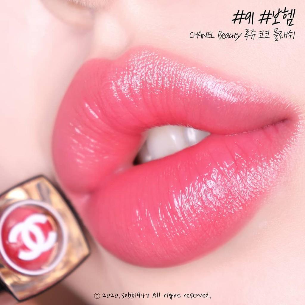 Flash Bohème Color Chanel พร้อมส่ง Coco Lip 91 Rouge
