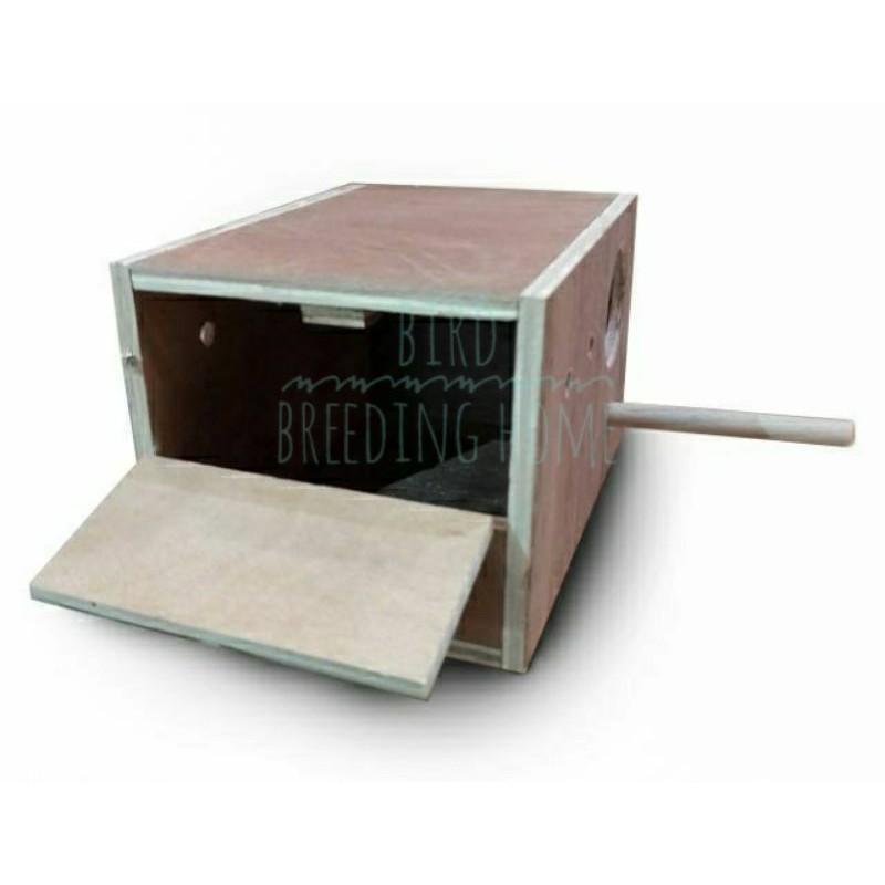 📣✅💯☁กล่องนก กล่องเพาะนก รังเพาะนก บ้านนก ฟินซ์,หงส์หยก,เลิฟเบิร์ด,ค๊อกคาเทล ตามขนาดราคาส่งทุกชิ้น