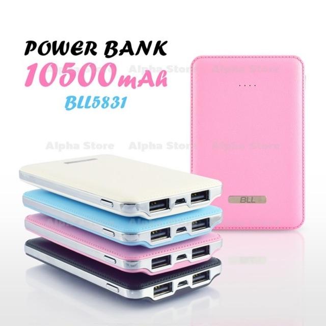 Powerbank 10500mah BLL 5831 ขนาดเล็กพกพาสะดวก