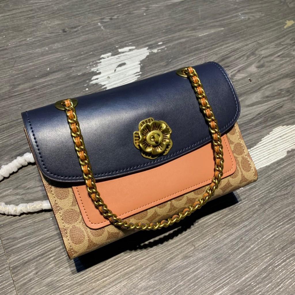 CoachCoach F69586 กระเป๋าสะพายข้างผู้หญิง กระเป๋าแฟชั่น Bag Fashion