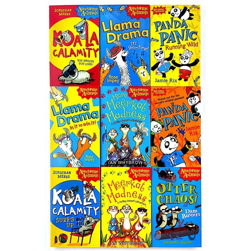 Awesome Animals Series (9books)