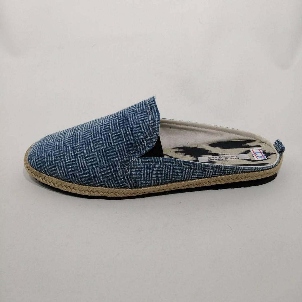 ใหม่✨✨รองเท้าเอสปาดริลชาย รองเท้าผ้าใบแฮนด์เมด อินดี้ วินเทจ แบบสลิปเปอร์ espadrilles