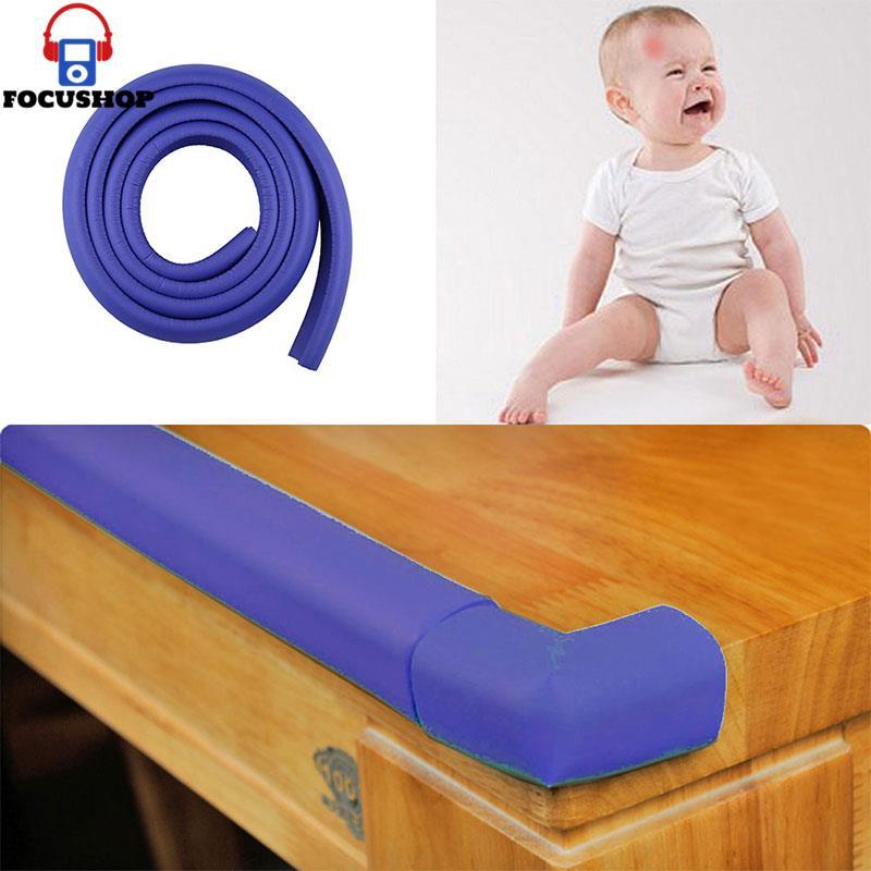Kid Softener Cushion Edge Corner Bumper W Baby Table Safety Protector Strip