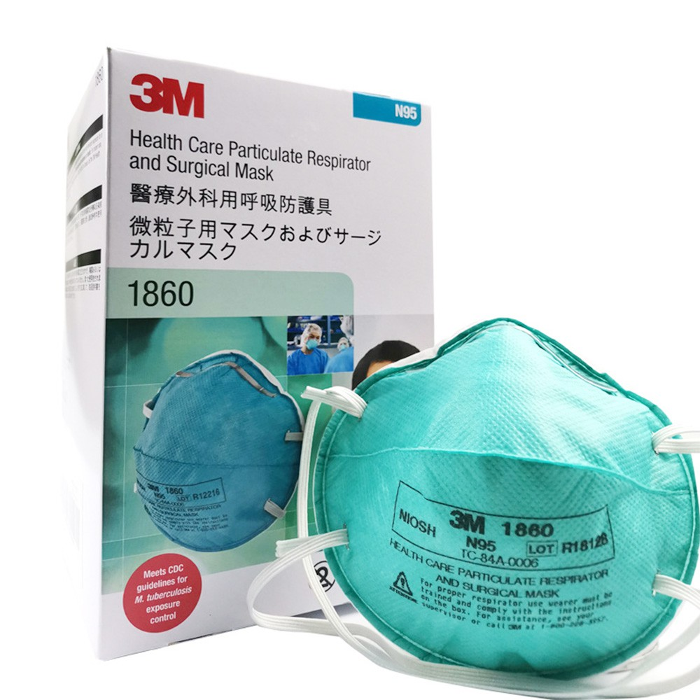 Women Adults For Pieces Masks 1860 3m Particulate 20 Respirator Men Saliva Influenza Medical Antiviral