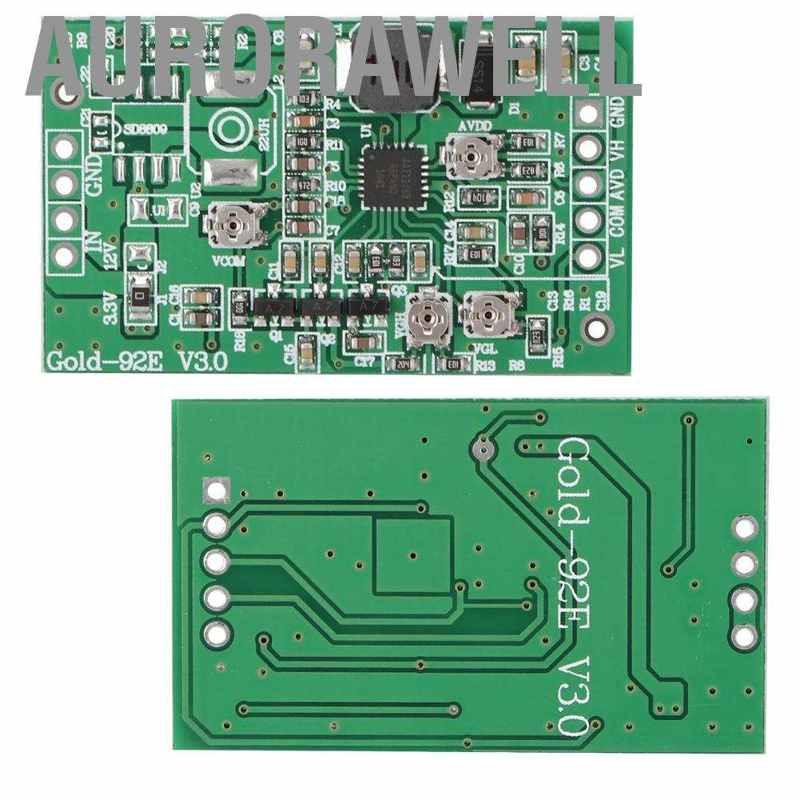 Aurorawell Gold - 92 E Zhide Tcon Board 4 Channels แบบปรับได้สําหรับหน้าจอ Lcd