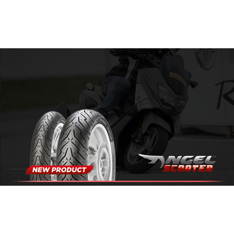 ยาง PIRELLI ANGEL SCOOTER  F120/70-14 R130/70-13