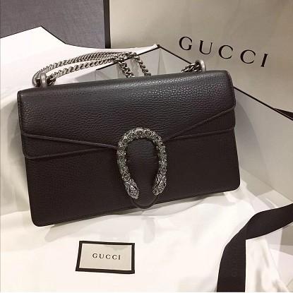 100% GUCCI / Classic Style / 421970 / Dionysus Series / mini Bag / Grey / สุภาพสตรี / กระเป๋าสะพาย / กระเป๋าหนัง
