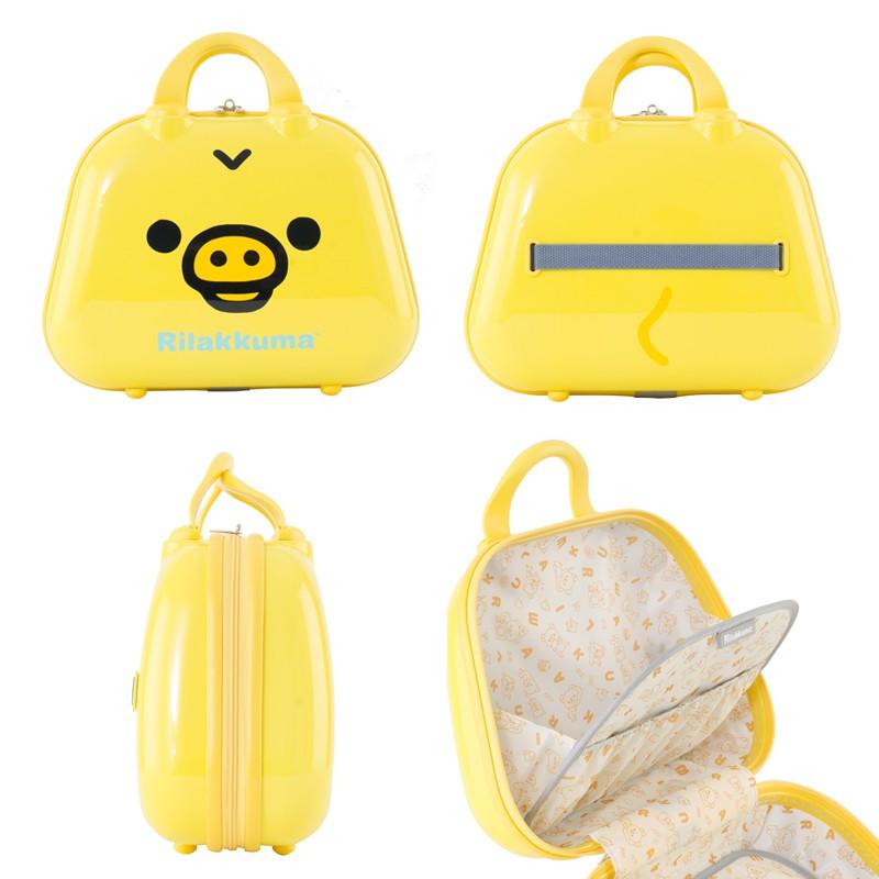 Rilakkuma กระเป๋าเดินทางคอลเลคชั่นริลัคคุมะ R25357 ขนาด 20 นิ้ว แถมฟรีใบเล็กสีเหลือง OFwc