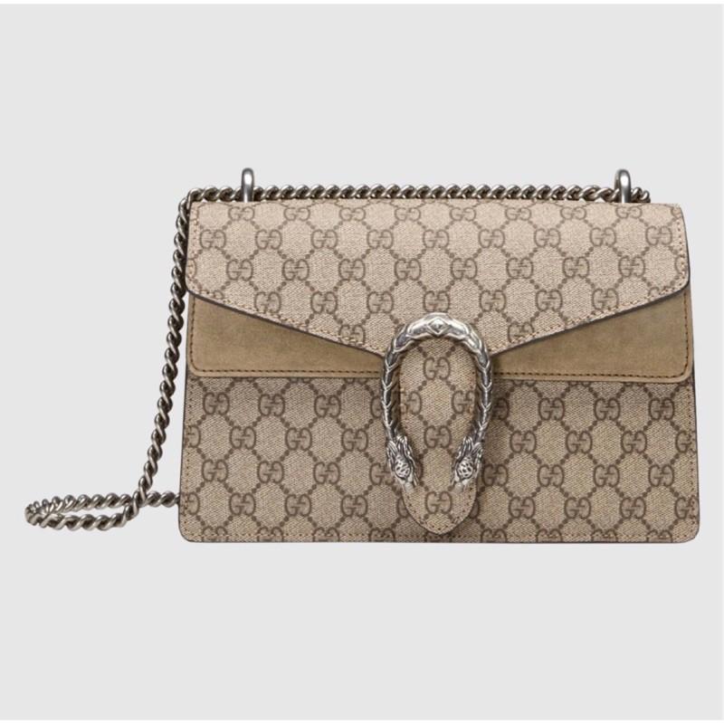 กระเป๋าสะพาย GUCCI Dionysus Beige Camel Dionysus Bag Shoulder Bag 400249