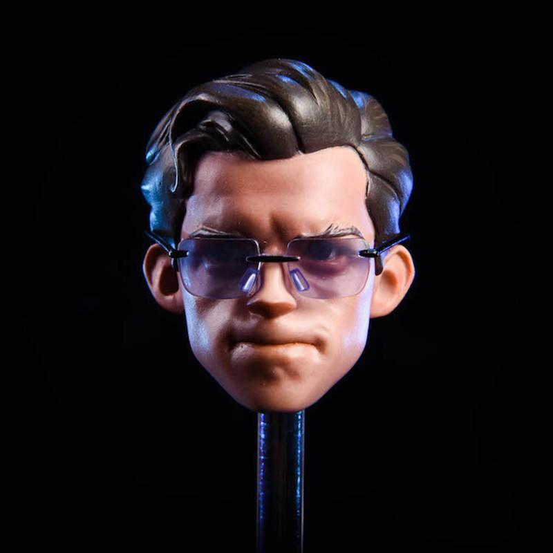 """NEW 1//6 Scale Spiderman Head Sculpt For 12/"""" Male figure"""